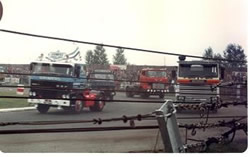 Was this the first ever UK truck race?