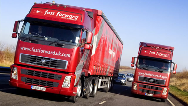 Picture of Fastforward's lorries